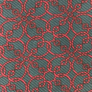 GUCCI ABSTRACT CHAIN PATTERN TIE